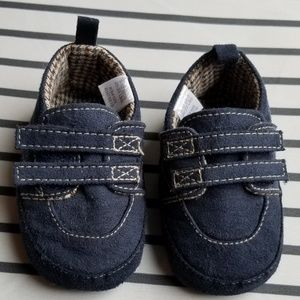 Other - Baby Boy Shoes - Navy (NWOT)